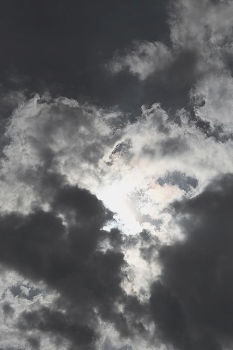 détail fashion photographie d'un ciel d'orage