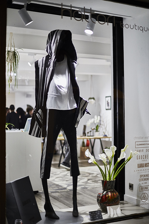 Photographie reportage Couleur Inauguration Hattori Boutique Nice