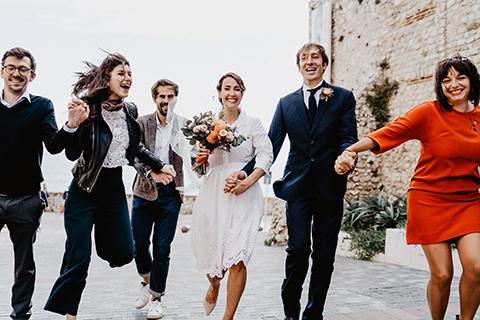 Coffret Mariage/  Photo de Groupe, réalisé à Antibe