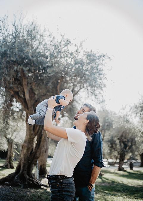 Séance photo Famille réalisée aux Arènes de Cimiez Nice